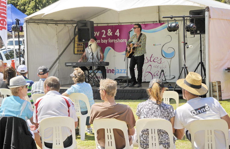 The live music will offer a wonderful atmosphere for the festival.