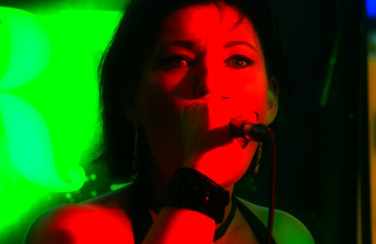 Witchery lead singer Janie Wanless.