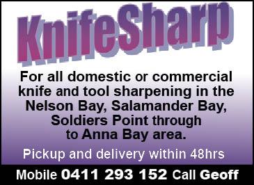 Geoff Farrar (Knife Sharpening)