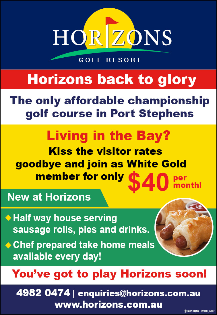 Horizons Golf Resort Port Stephens