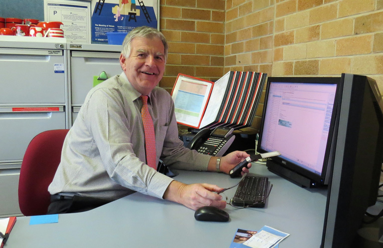 Mr Don Hudson has seen many changes to education during his career.