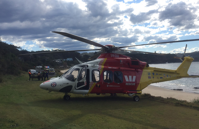 The Westpac Rescue Helicopter