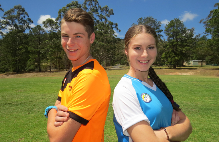 Finalists: Brendan and Bianca Mason.