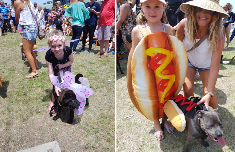 PETS ON PARADE; Myall River Festival.