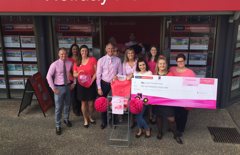 The Proudly Pink PRD Team.