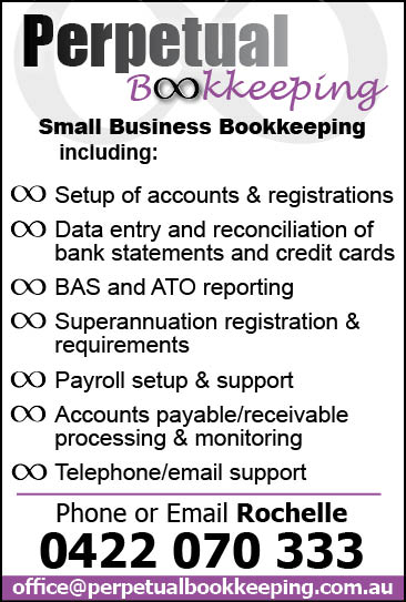 Perpertual Bookkeeping
