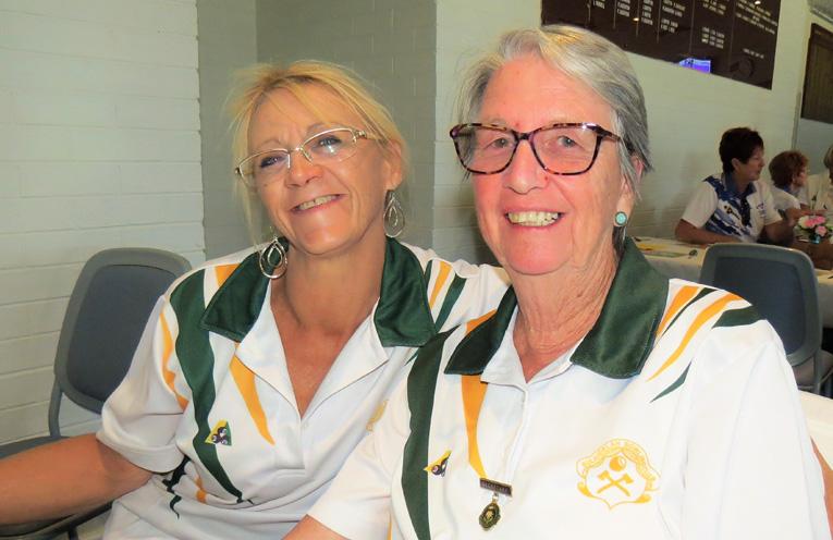 Wendy Grainger and Laraine Parnell from Bulahdelah.