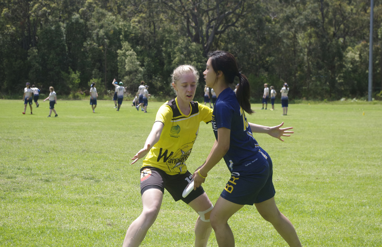 Ultimate teams in action. Photos by Marian Sampson