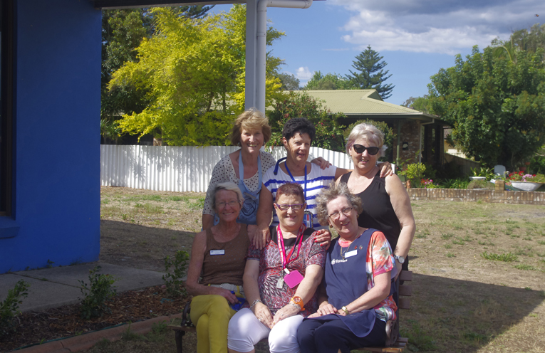 """""""The Thursday Girls"""" at Anna Bay Vinnies. Photo by Marian Sampson."""