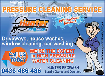 Hunter Pro Wash