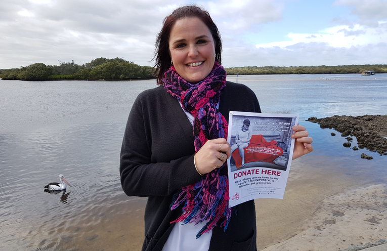 'IT'S IN THE BAG CAMPAIGN: Jodie Genner