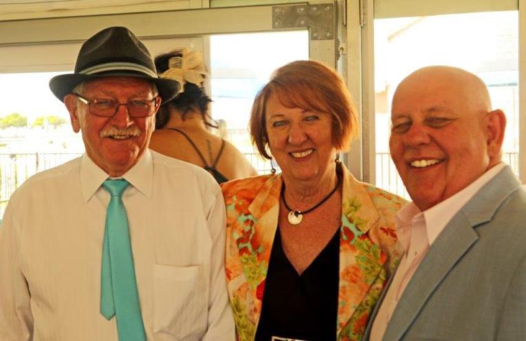 Stewart House representatives Lloyd Hogg, Kerryanne Knox and CEO Graham Philpotts.