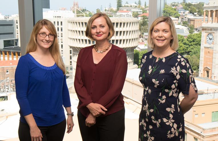 Doctors Jessica Allen, Bernadette Drabsch, and Heather Sharp represent Medowie in Fellowship success.