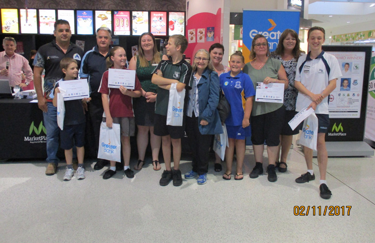 This week's PBL award winners, presented at the MarketPlace by Leigh Ridgeway.