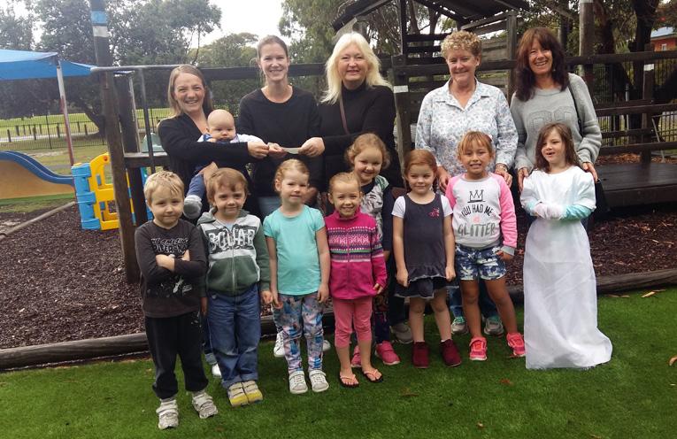 PEARLS DONATION: Tea Gardens Hawks Nest Pre School.