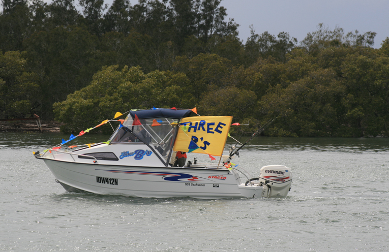 The blessing of the fleet was a popular event at the Tilligerry Festival.