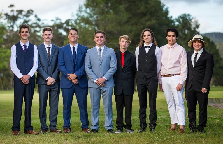 Ryan Post, Tate Bruinsma, Mitchell Pinch, Bailey Shultz, Jacob Crispin, Nelson Wrigley, Cooper Bramston and Tim To. Photo: Matt Hudson