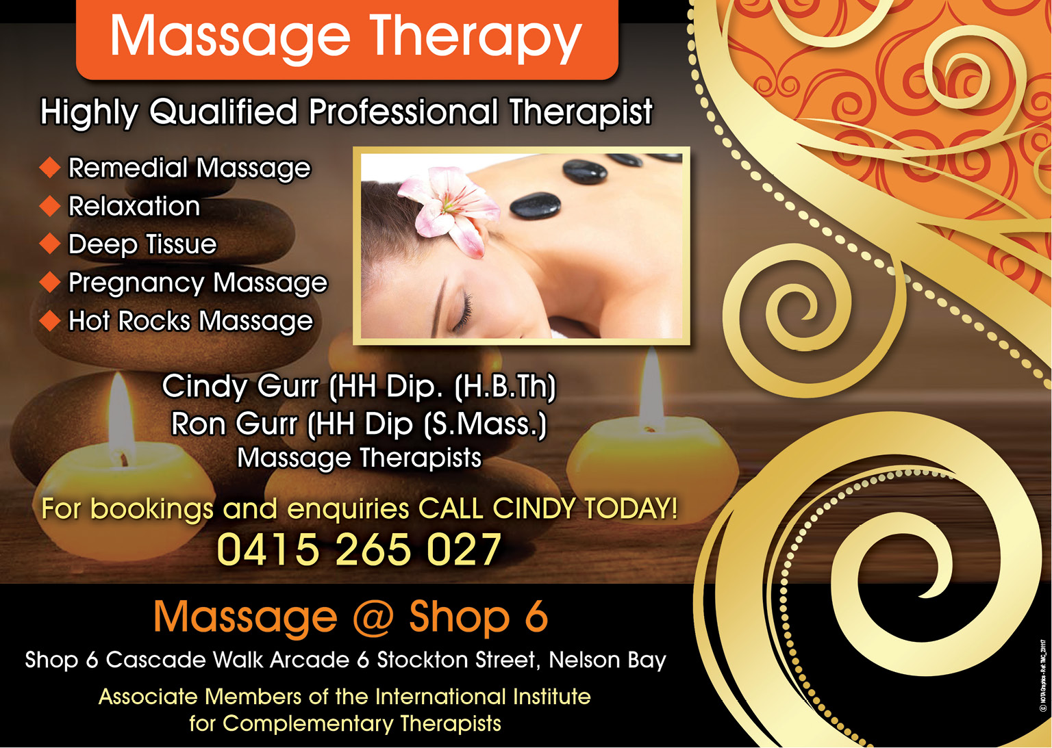 Massage @ Shop 6