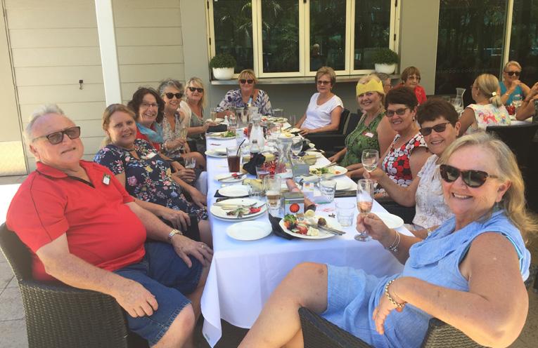 Wayne, Dot, Jenny, Jenny, Kathie, Annette, Liz, Deb, Julie, Jenni, Linda at BayFit Christmas get together.