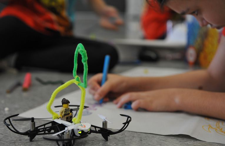 The drone camp will teach young girls all the inner workings of the industry.