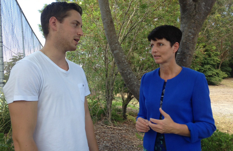 Our MP Kate Washington is looking forward to introducing Jarrod to some Redzone residents to hear their stories.