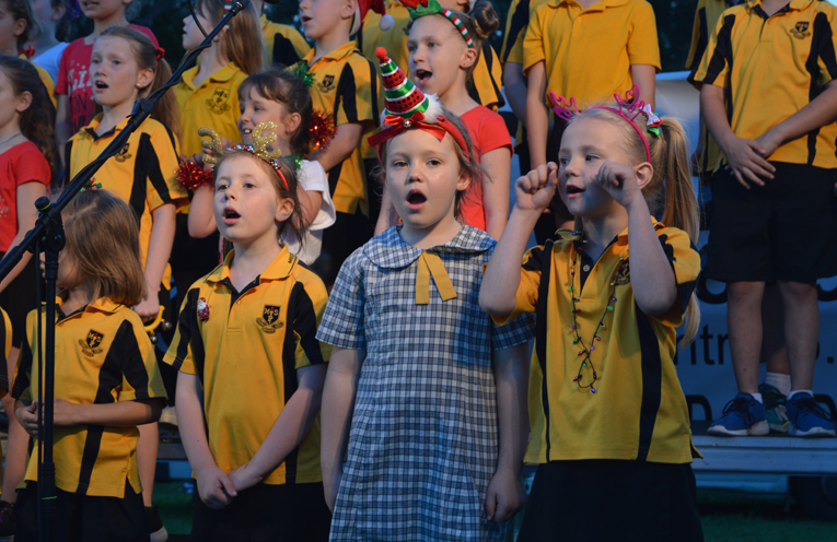 Medowie Public School Choir.