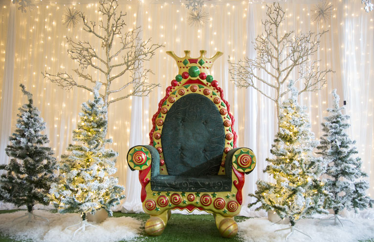Santa's Grotto will take over one of the empty shopfronts from 18th December.