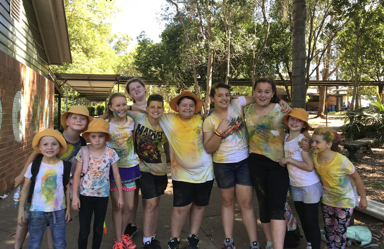 Medowie Public School students had a wonderful day at the colour run, raising important funds.