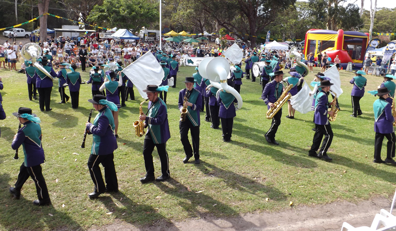 The Hunter School of Performing Arts Band.