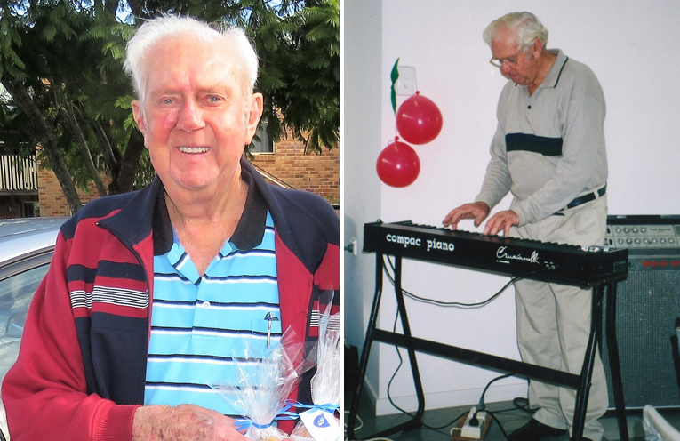 Jim Richards was one of the regions most well-respected citizens. (left) Jim Richards was a man of many talents. (right)