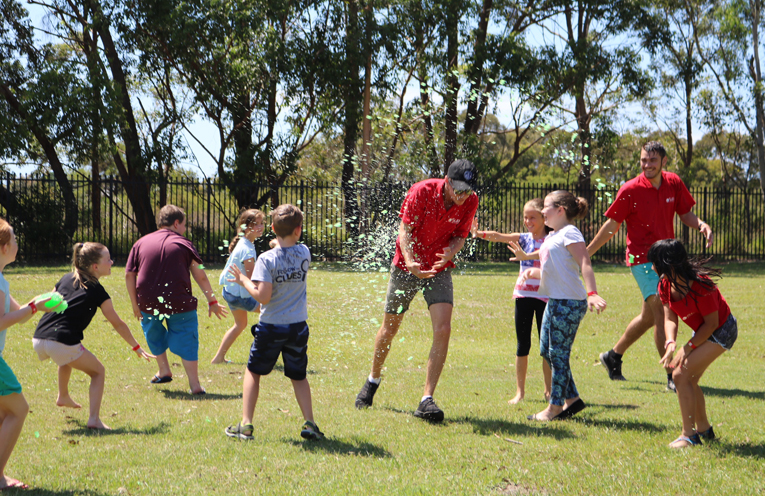 The participants were treated to a week of activities and fun for the whole family.