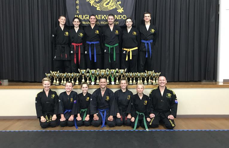 Imugi Taekwondo National Champions.