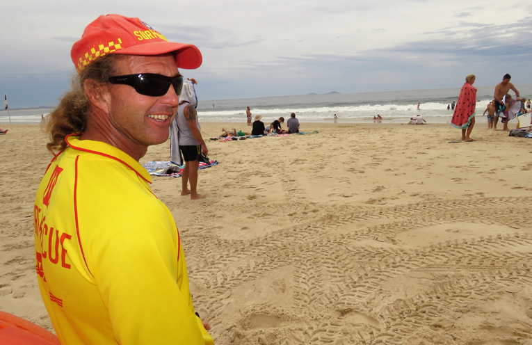 TGHN Surf Lifesaving Club President Stephen Howell.