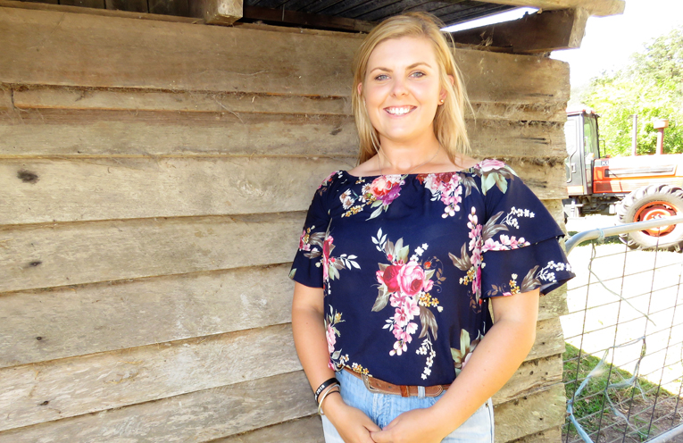 Showgirl Richelle Levy has a passion for rural communities.
