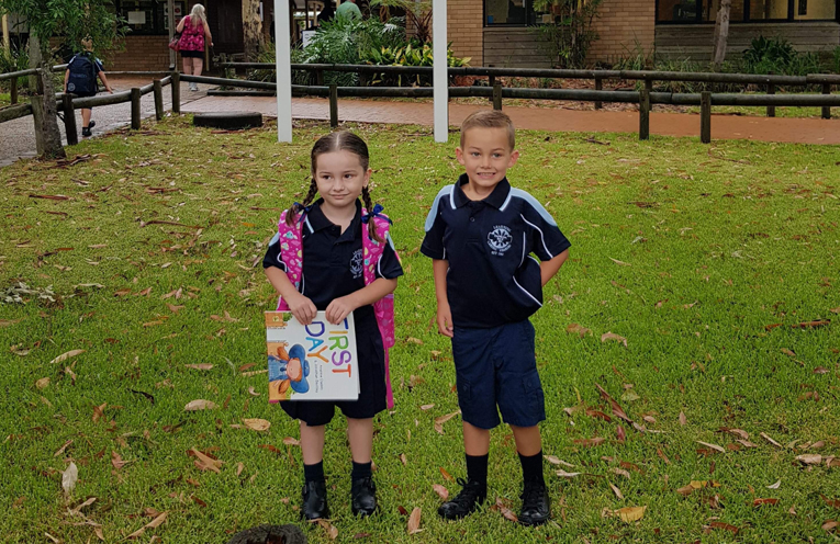 Lola Bailey and Emmett Delphine - Tanilba Bay Public School.