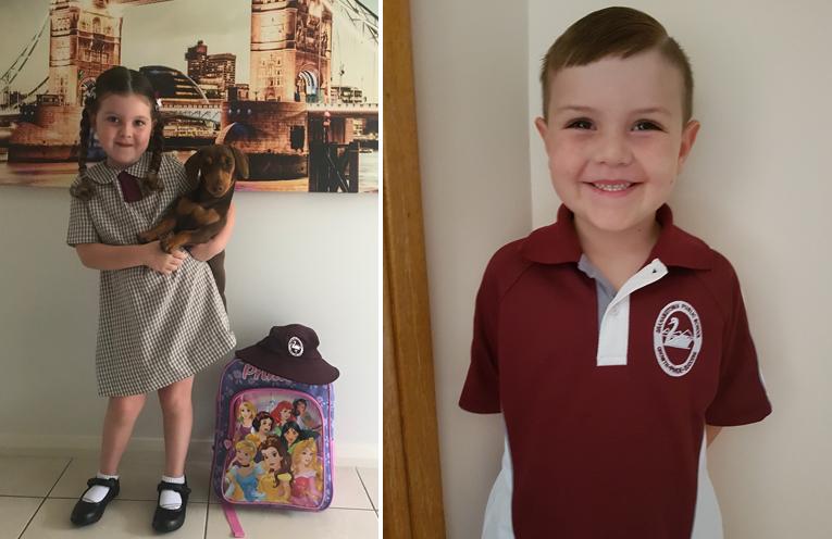 Darcy Aylett - Grahamstown Public School. (left) Levi Munro - Grahamstown Public School. (right)