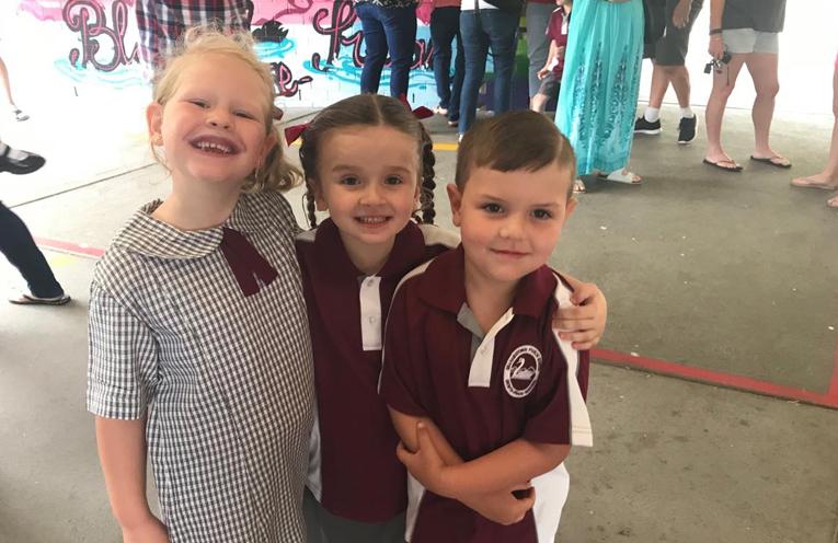 Jorja Single, Caitlyn Hitchcock, Levi Munro - Grahamstown Primary School.