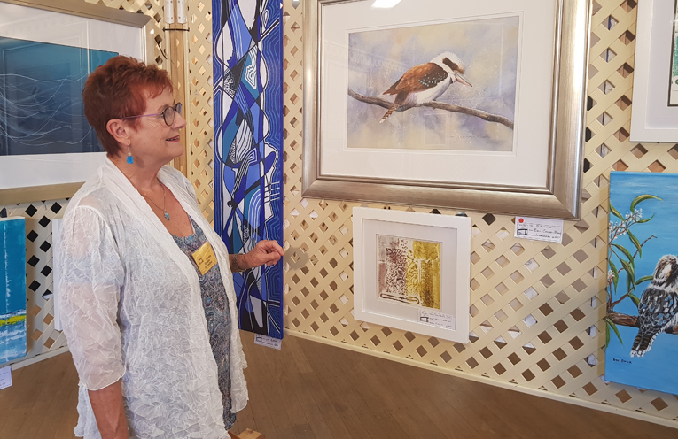U3A ART AND PHOTOGRAPHY SHOW: Lynette Chaikin.