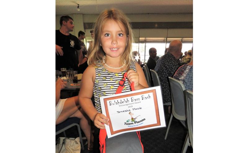 Encouragement Award: Teniesha Morris.