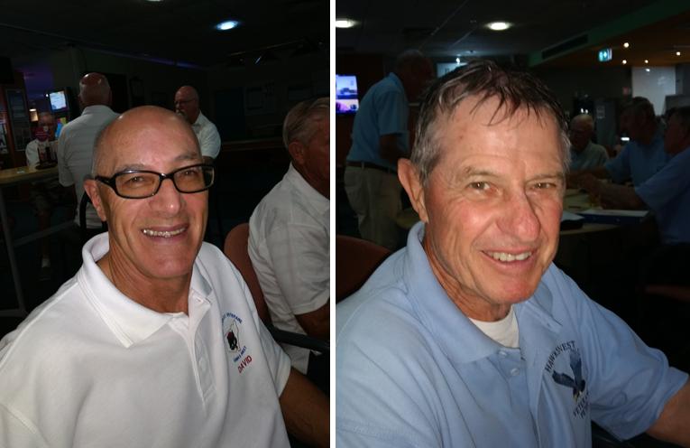 A Grade Winner David Potts (left) C Grade Winner Peter Ham. (right)