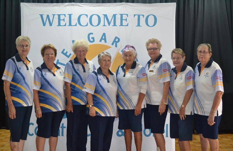 Grade 4 Pennant teams: Loretta Baker, Deyonne Page, Bette Saillard, Francis Betar, Lynda Richards, Carol Hayden, Wendy Brand and Elizabeth Kelly.