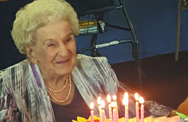 Jan McDonald celebrated her 100th Birthday with family and friends.
