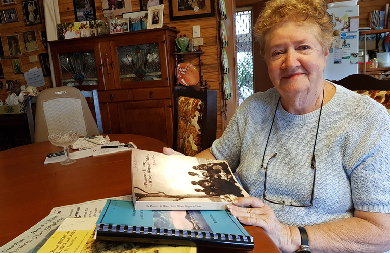 LOCAL HISTORIAN AND WRITER: Janis Winn