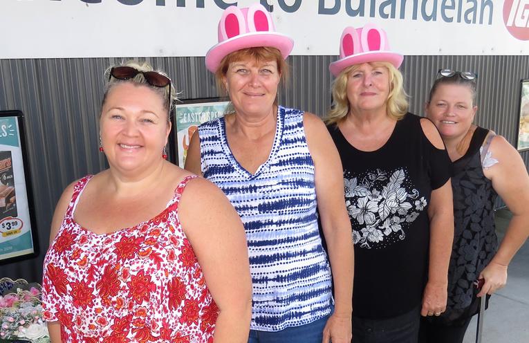Fun and Friendship: Kylie Paar, Belinda Moore, Janine Summers and Karen Lamborn.