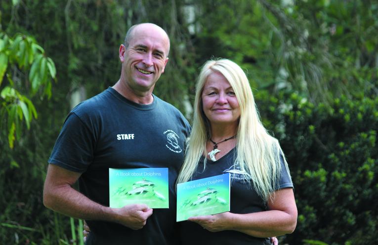 Authors David Scott and Lesley Dutton. Photo by Angela Dutton.