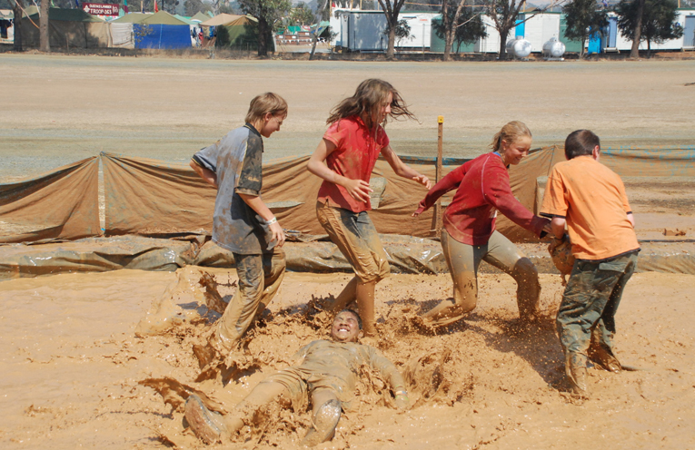 Children from all across the Region, State and Australia having fun at Scout Jamboree.