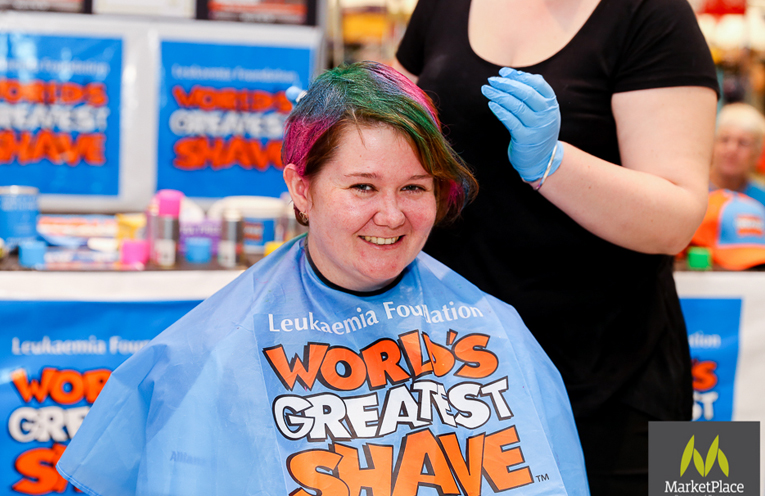 Cassandra Nunn took the plunge and got colourful at last year's event