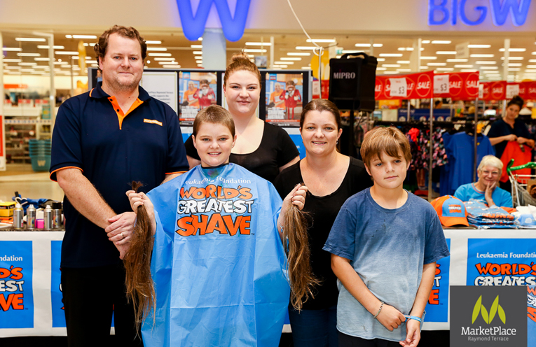 Last year's event had a number of young people fundraising to have their hair chopped at the event. MarketPlace hope to see even more this year.