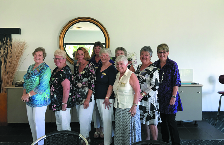 Myall River View Club formed a new Committee.