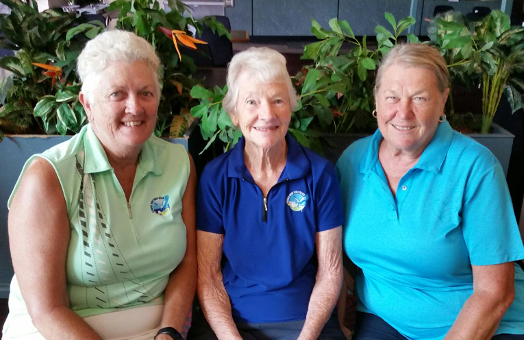 Annie Scott, Marie Pegram and Susan Fordy.